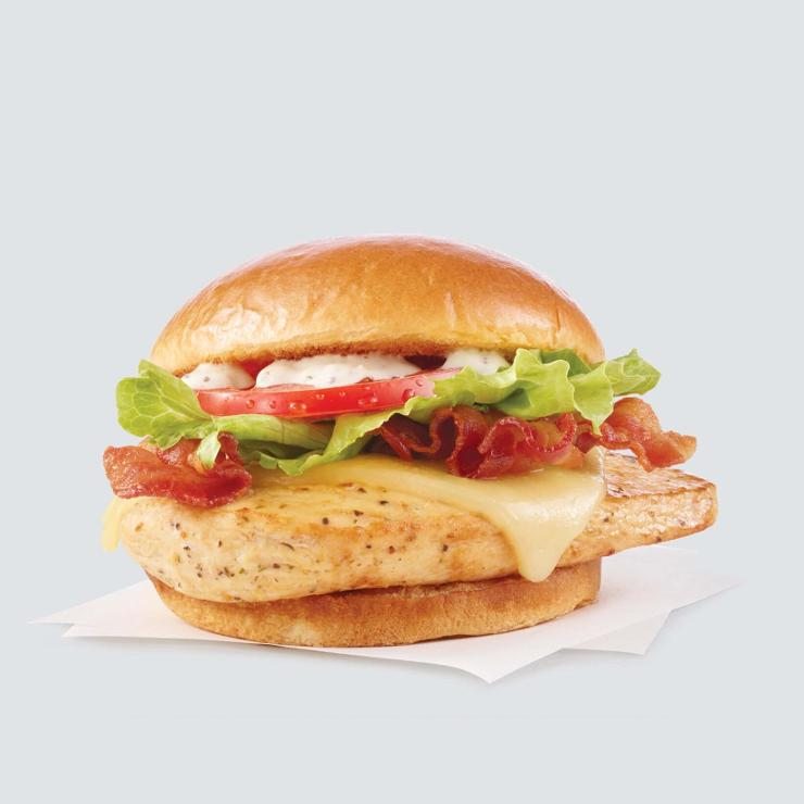 Grilled Asiago Ranch Chicken Club