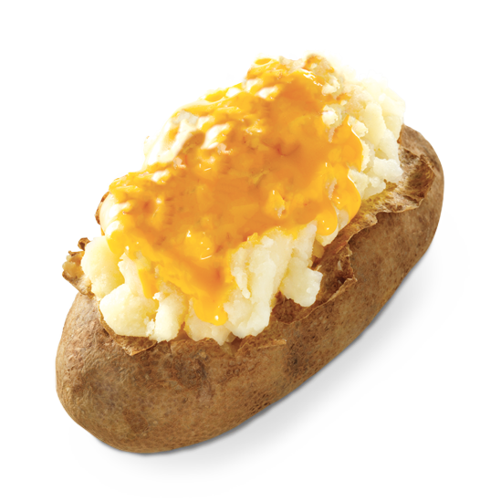 Cheese Baked Potato