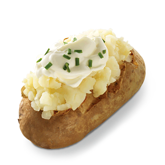 Sour Cream & Chive Baked Potato